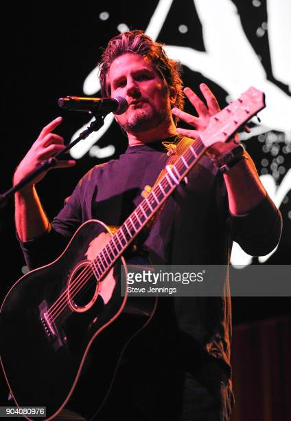 Matt Nathanson performs at the Alice 973 Radio concert Alice In Winterland at The Masonic Auditorium on January 11 2018 in San Francisco California