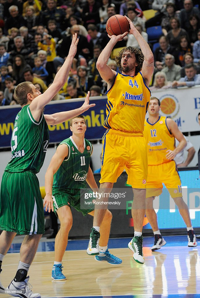BC Khimki Moscow Region v Union Olimpija Ljubljana - Turkish Airlines Euroleague