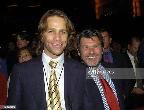 Matt Nye and Jann Wenner at Radio City Music Hall in New York City for A Change Is Going To Come The Concert for John Kerry on Thursday July 8 2004...