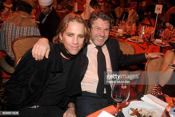 Matt Nye and Jann Wenner attend BETTE MIDLER'S Hulaween Gala Celebrating The New York Restoration Project at WaldorfAstoria on October 31 2007 in New...
