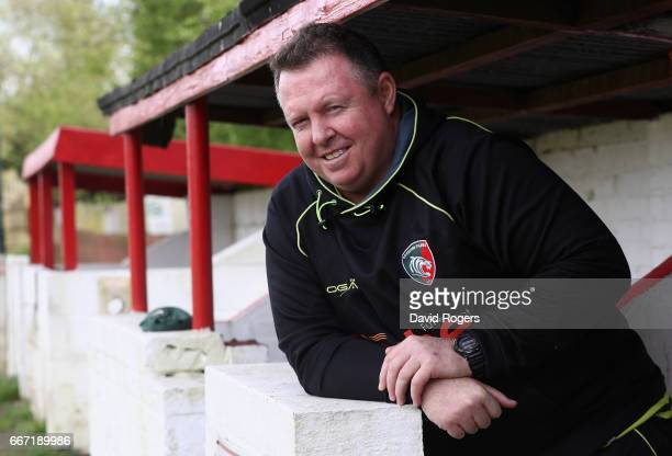 Matt O'Connor the Leicester Tigers head coach poses during the Leicester Tigers media session held at the Oadby Oval on April 11 2017 in Leicester...