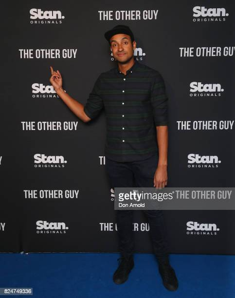Matt Okine arrives ahead of the premiere of Matt Okine's new series 'The Other Guy' at Museum of Contemporary Art on July 31 2017 in Sydney Australia