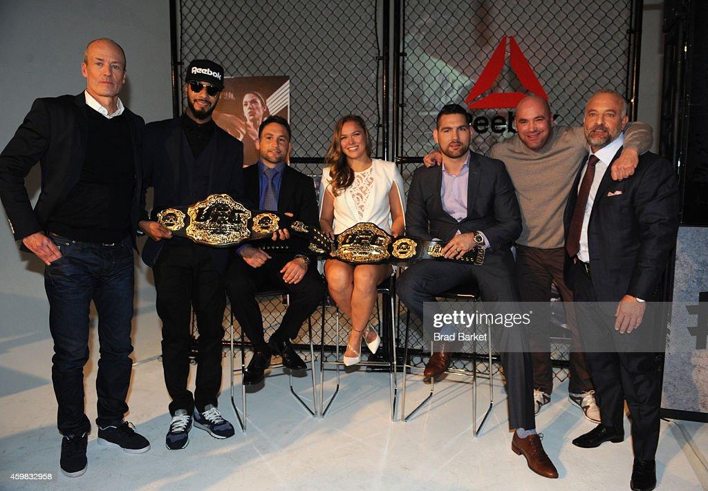 Reebok and UFC Announce Long-Term Partnership
