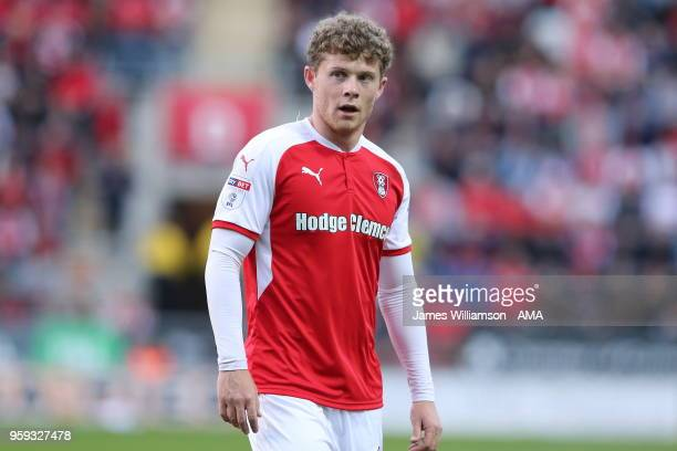 Matt Palmer of Rotherham United during the Sky Bet League One Play Off Semi FinalSecond Leg between Rotherham United and Scunthorpe United at The New...