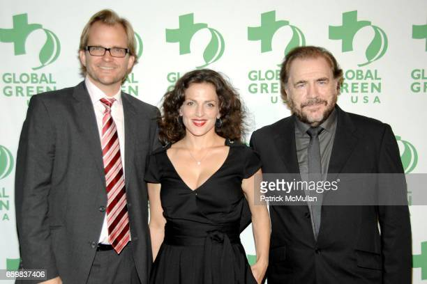 Matt Petersen Brian Cox and Nicole AnsariCox attend GLOBAL GREEN USA presents the 10th ANNUAL SUSTAINABLE DESIGN AWARDS at Pier Sixty at Chelsea...
