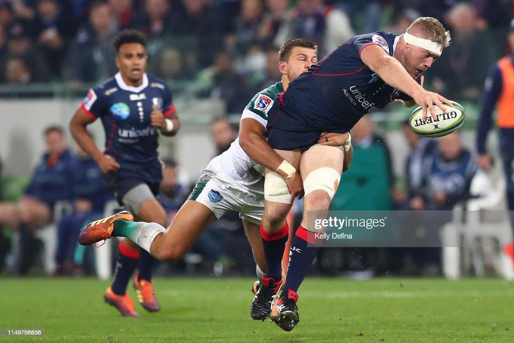 Super Rugby Rd 14 - Rebels v Bulls : News Photo