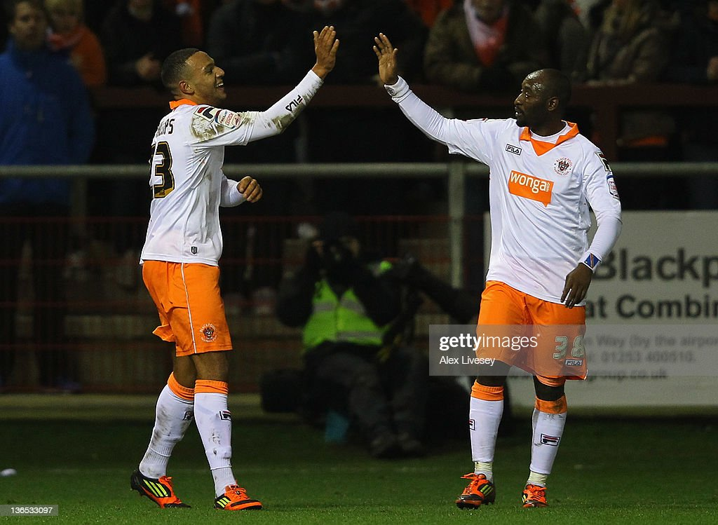 Fleetwood Town v Blackpool - FA Cup Third Round