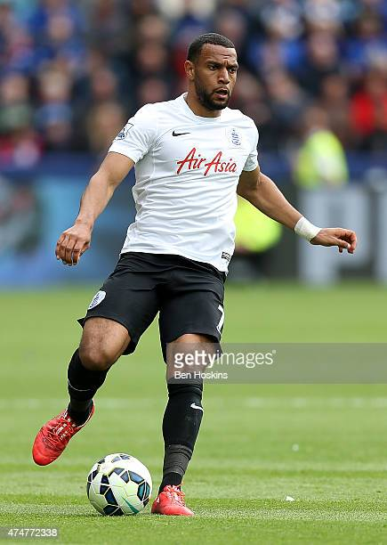 Matt Phillips of QPR in action during the Premier League match between Leicester City and Queens Park Rangers at The King Power Stadium on May 24...