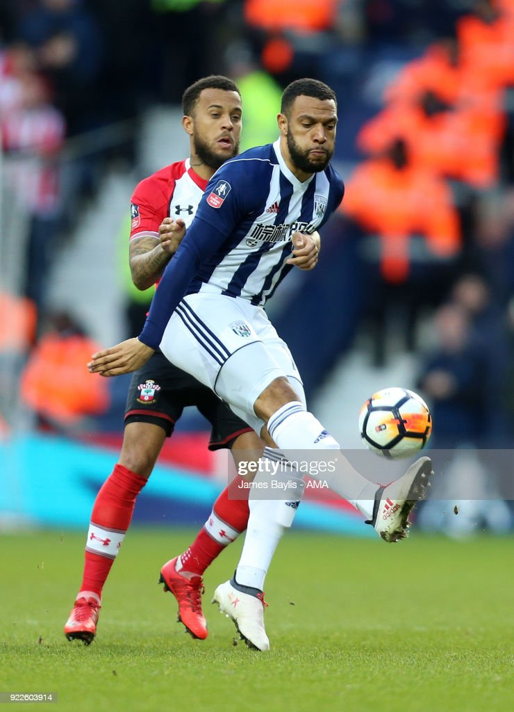 West Bromwich Albion v Southampton - The Emirates FA Cup Fifth Round : News Photo
