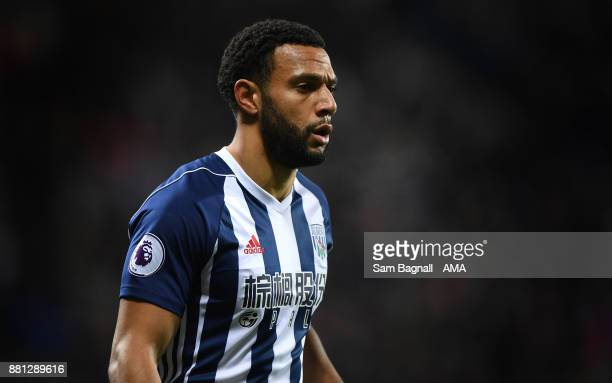 Matt Phillips of West Bromwich Albion during the Premier League match between West Bromwich Albion and Newcastle United at The Hawthorns on November...