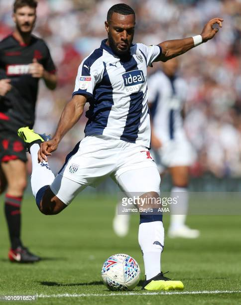 Matt Phillips of West Bromwich Albion during the Sky Bet Championship match between West Bromwich Albion and Bolton Wanderers at The Hawthorns on...