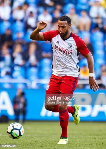 Matt Phillips of West Bromwich Albion in action during the Pre Season Friendly match between Deportivo de La Coruna and West Bromwich Albion at...
