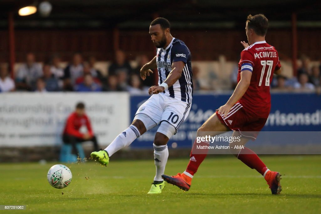 Accrington Stanley v West Bromwich Albion - Carabao Cup Second Round