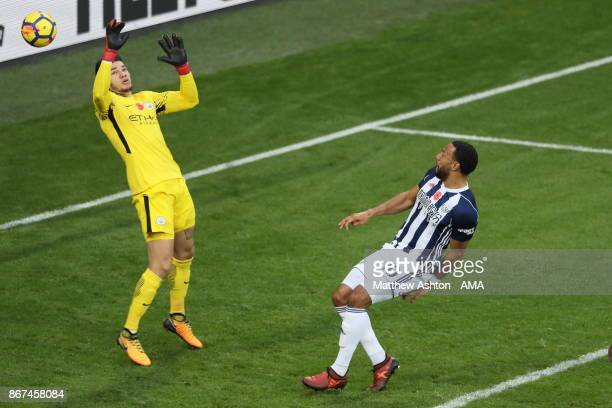 Matt Phillips of West Bromwich Albion scores a goal to make it 2-3 during the Premier League match between West Bromwich Albion and Manchester City...