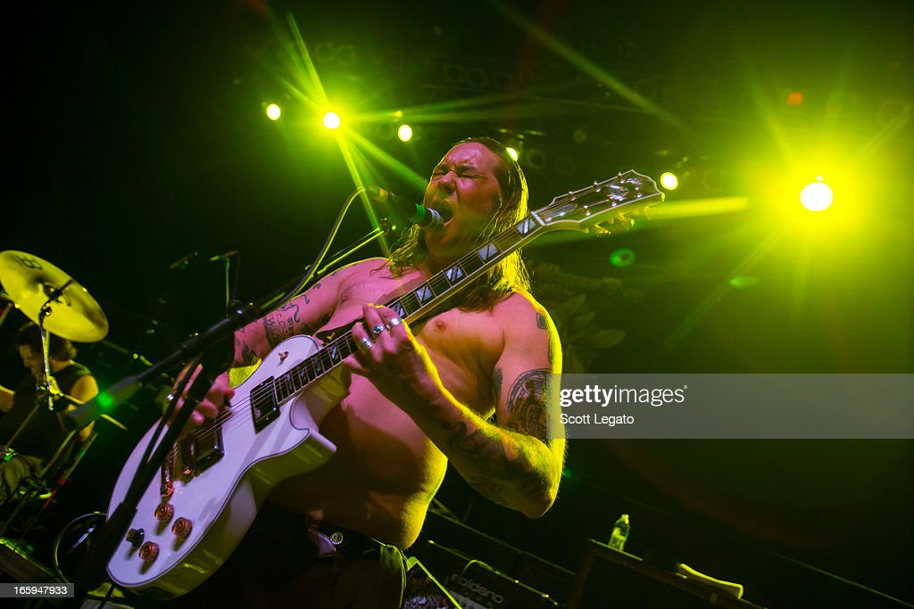 Matt Pike of High on Fire performs during the Metal Alliance Tour at The Fillmore on April 6, 2013 in Detroit, Michigan.