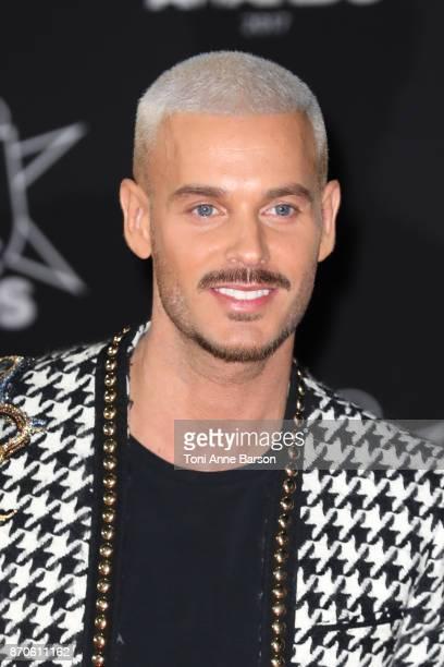 Matt Pokora arrives at the 19th NRJ Music Awards ceremony at the Palais des Festivals on November 4 2017 in Cannes France