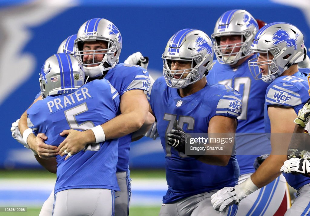 Washington Football Team v Detroit Lions : News Photo