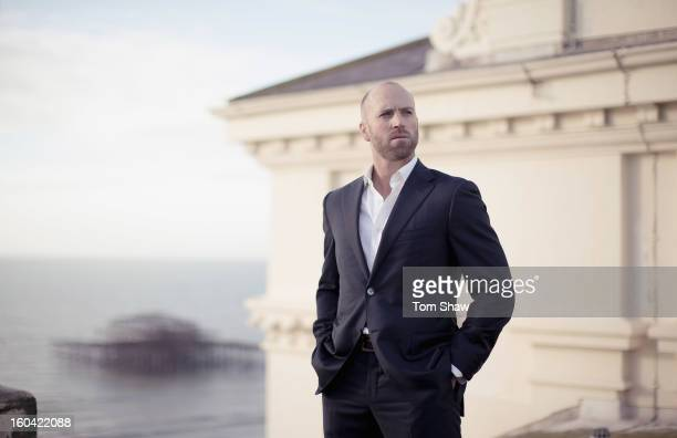 Matt Prior of England poses for a picture on the roof of the Grand Hotel on December 20 2012 in Brighton England