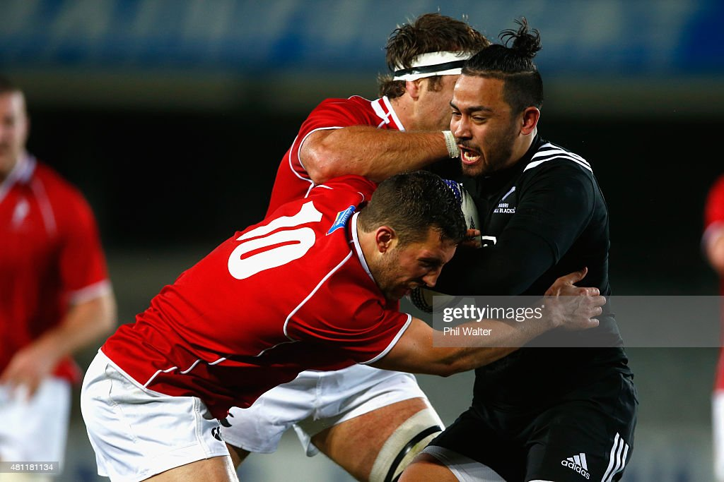 Maori All Blacks v New Zealand Barbarians