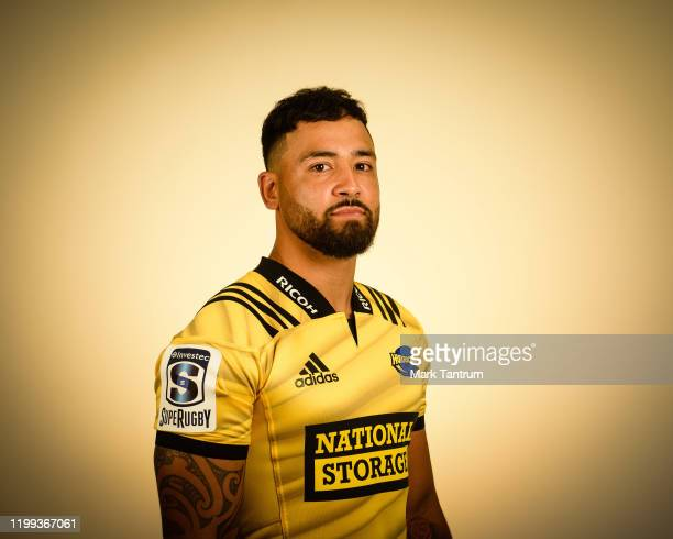 Matt Proctor poses during a Hurricanes Super Rugby headshots session on February 01 2019 in Wellington New Zealand