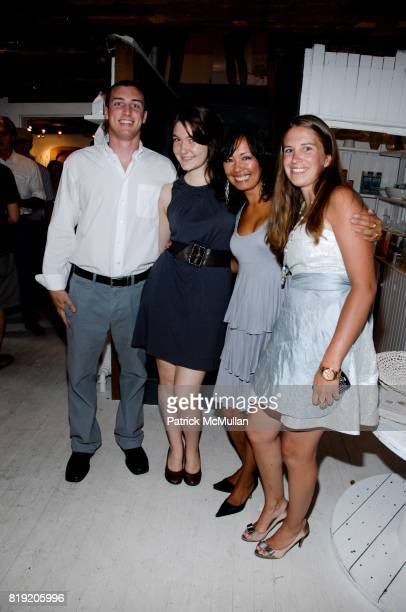 Matt Pronio Tile Wolfe Analisa Johnson and Emily Koegh attend RICHARD ASH MD AND RACHEL PALETSKY HOST THE OPENING OF WELLNEST at Wellnest on July 10...