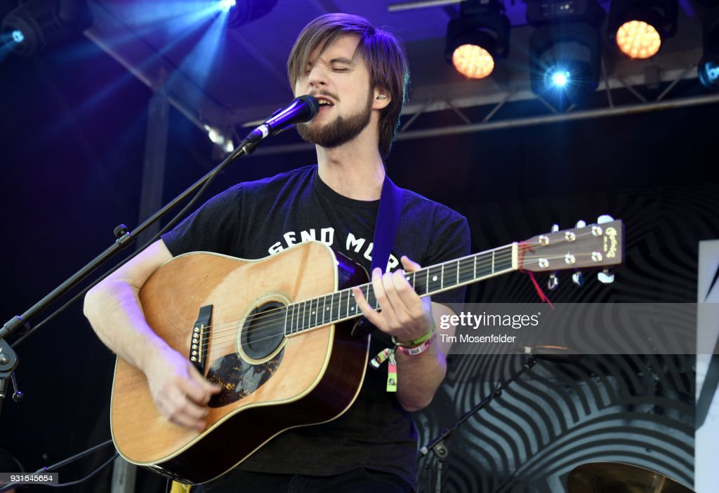 Matt Quinn of Mt. Joy performs during the Pandora showcase at The Gatsby during the South by Southwest Conference and Festivals on March 13, 2018 in Austin, Texas.