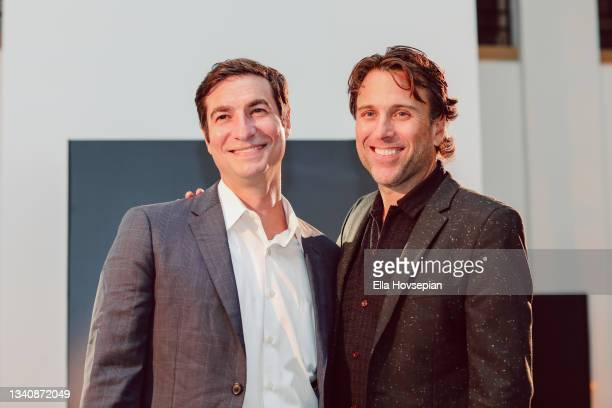 Matt Rachamkin and Jonathan Baker attend The One And Only, Dick Gregory, Album Release Event on September 16, 2021 in Burbank, California.