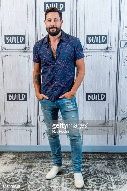 Matt Ramsey of Old Dominion discusses 'Happy Endings' with the Build Series at Build Studio on July 12 2017 in New York City