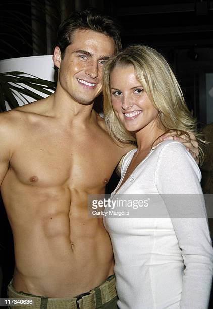 Matt Ratliff and Heather Lang during Abercrombie & Fitch Store Opening on 5th Avenue in New York City at A & F 5th Avenue in New York City, New York,...