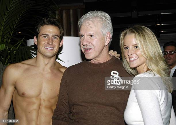 Matt Ratliff, John Lough and Heather Lang during Abercrombie & Fitch Store Opening on 5th Avenue in New York City at A & F 5th Avenue in New York...