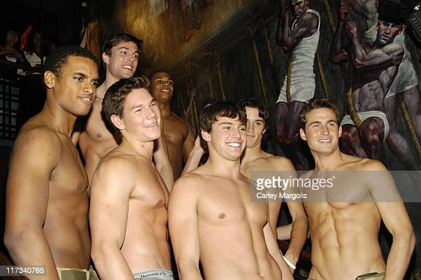 Matt Ratliff with other Abercrombie & Fitch Models