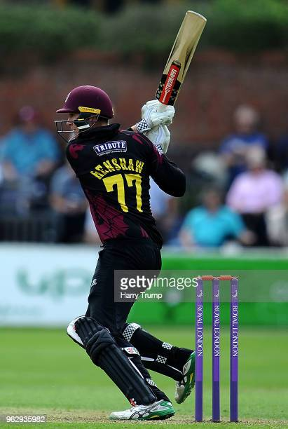 Matt Renshaw of Somerset bats during the Royal London OneDay Cup match between Somerset and Middlesex at The Cooper Associates County Ground on May...