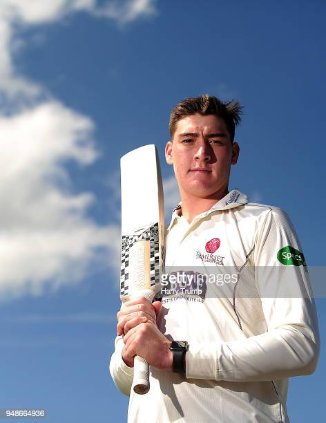 Matt Renshaw of Somerset CCC poses for a photo during Somerset CCC Media Access at The Cooper Associates County Ground on April 18 2018 in Taunton...