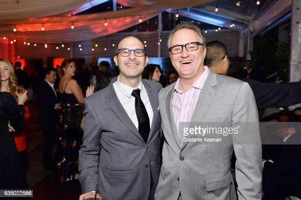 Matt Ringel and Jason Weinstock attend Red Light Management 2017 Grammy After Party on February 12 2017 in West Hollywood California