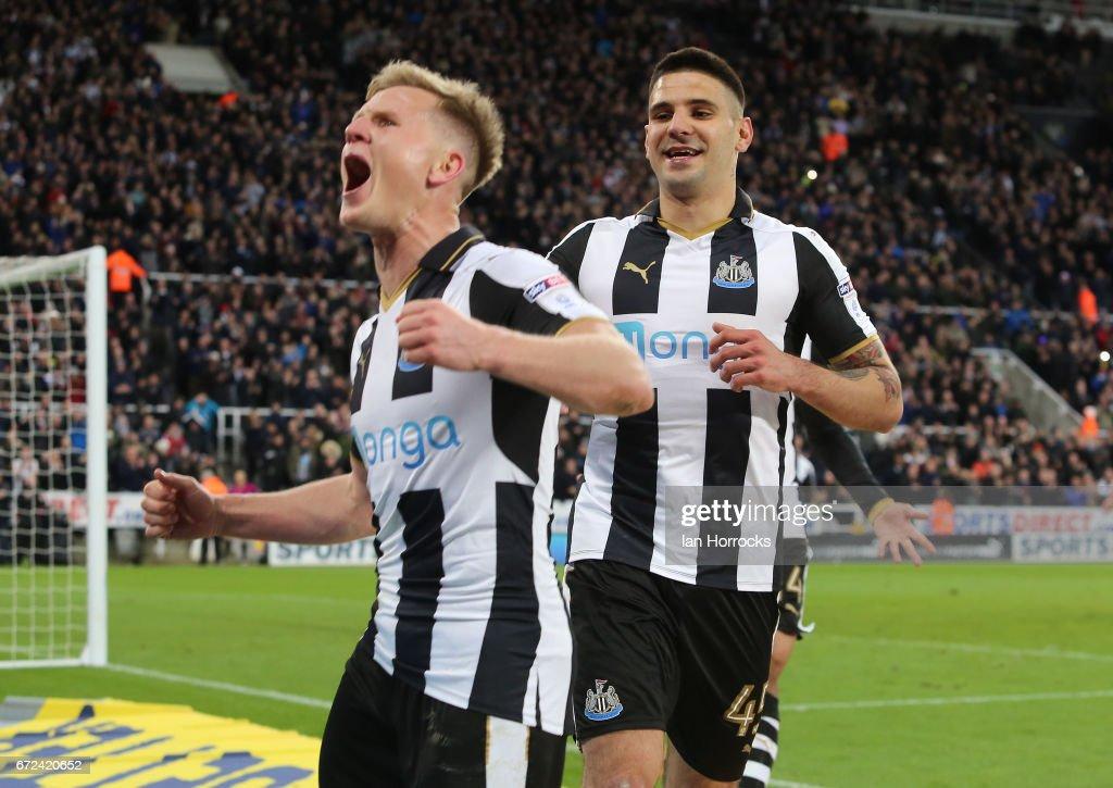 Newcastle United v Preston North End- Sky Bet Championship : News Photo