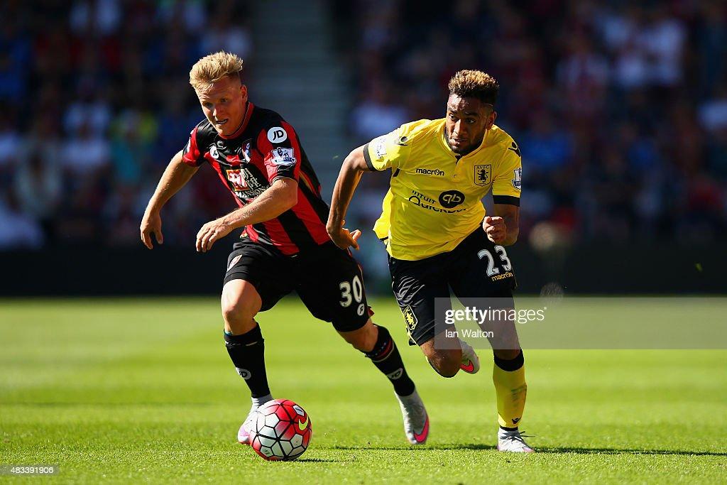 A.F.C. Bournemouth v Aston Villa - Premier League : News Photo
