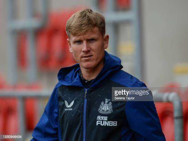 Matt Ritchie of Newcastle United FC during the Pre Season Friendly between Rotherham United and Newcastle United at AESSEAL New York Stadium on July...