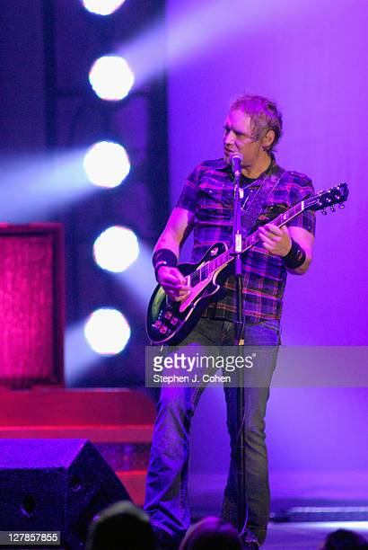 Matt Roberts of 3 Doors Down performs at Rupp Arena on October 1 2011 in Lexington Kentucky