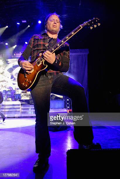 Matt Roberts of 3 Doors Down performs at The Woods at Fontanel on October 2 2011 in Nashville Tennessee