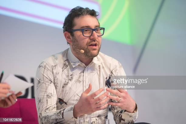 Matt Rogers, founder of the automatisation company Nest, speaks during the DLDconference in Munich, Germany, 16 January 2017. Top-class guests...