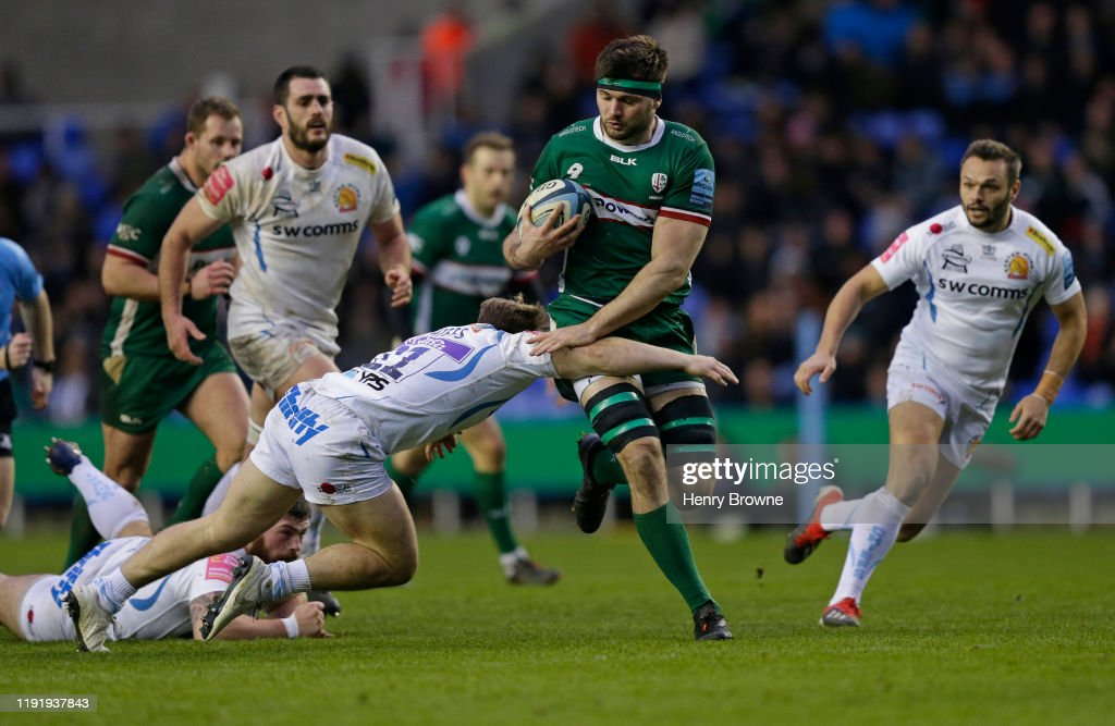 London Irish v Exeter Chiefs - Gallagher Premiership Rugby : News Photo