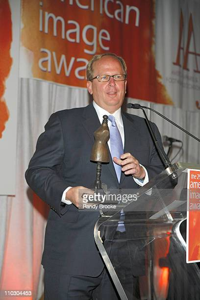 Matt Rubel with his retailer of the year award during 29th Annual American Image Awards 2007 - May 14, 2007 at Grand Hyatt in New York, New York,...