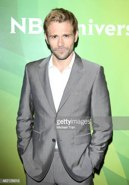 Matt Ryan arrives at NBCUniversal's 2014 Summer TCA Tour Day 1 held at The Beverly Hilton Hotel on July 13 2014 in Beverly Hills California