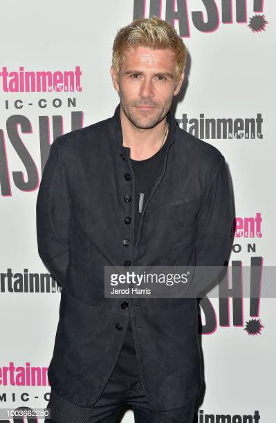 Matt Ryan attends Entertainment Weekly's ComicCon Bash held at FLOAT Hard Rock Hotel San Diego on July 21 2018 in San Diego California sponsored by...