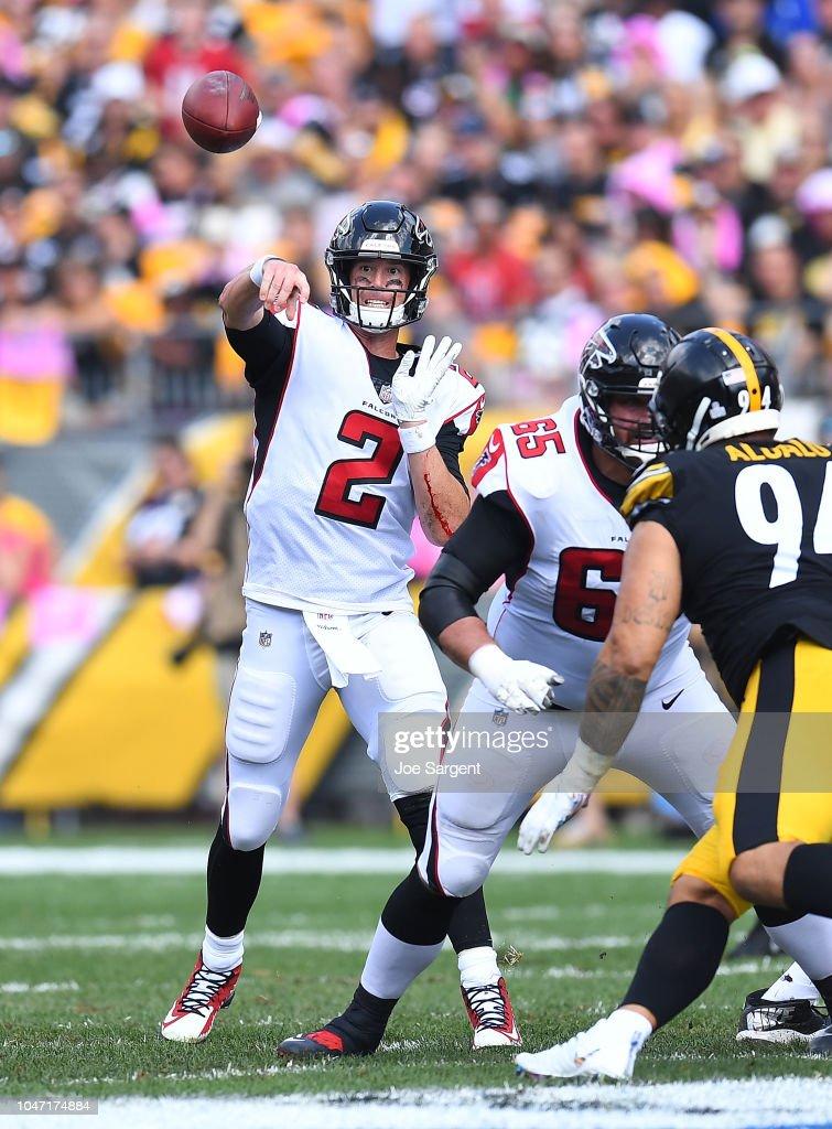 Atlanta Falcons v Pittsburgh Steelers : Fotografia de notícias