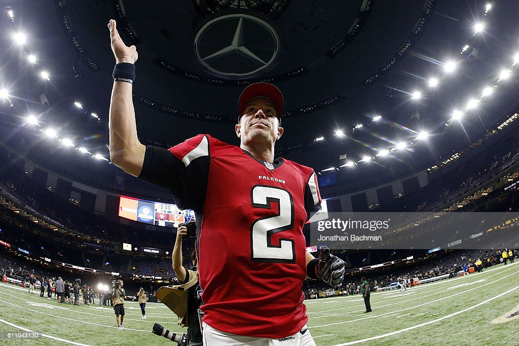 Atlanta Falcons v New Orleans Saints : News Photo