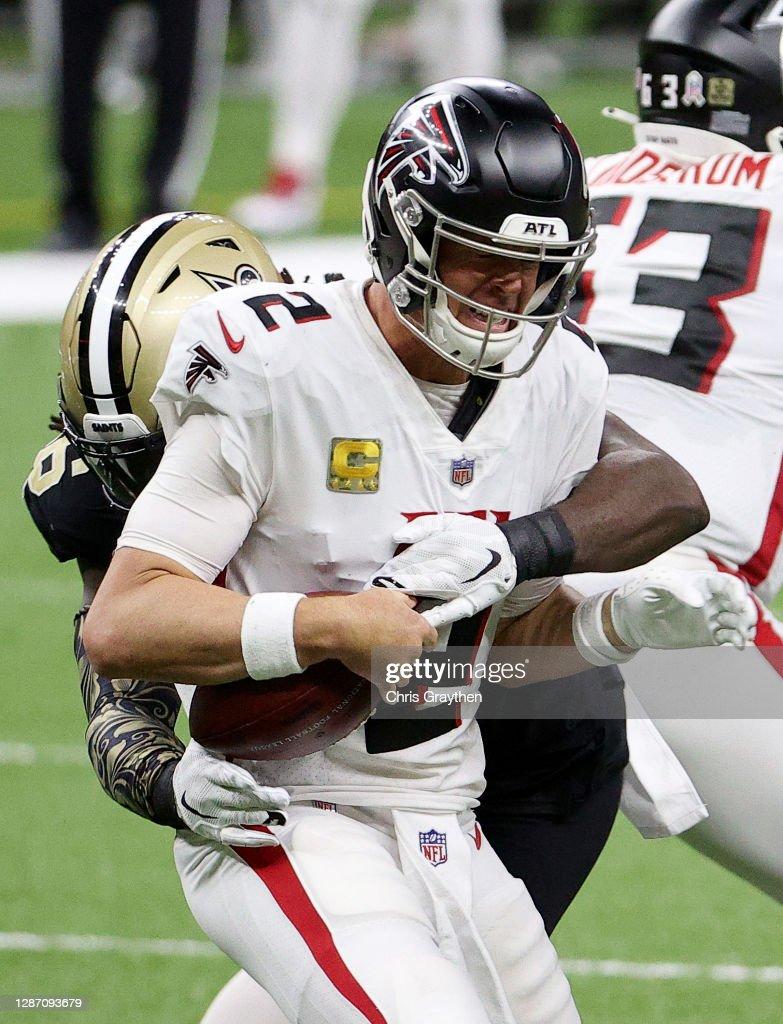 Atlanta Falcons v New Orleans Saints : ニュース写真