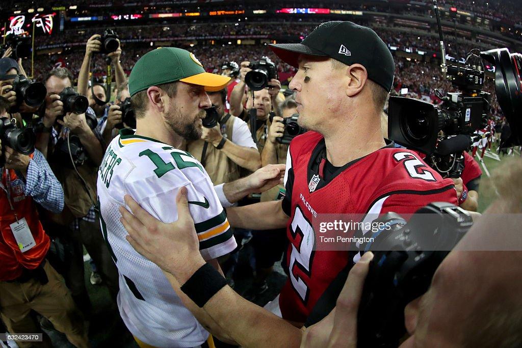 NFC Championship - Green Bay Packers v Atlanta Falcons : News Photo