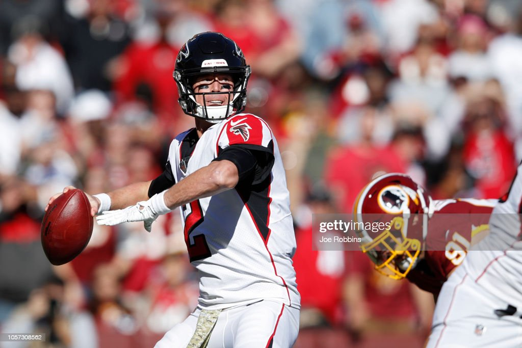 Atlanta Falcons v Washington Redskins : News Photo