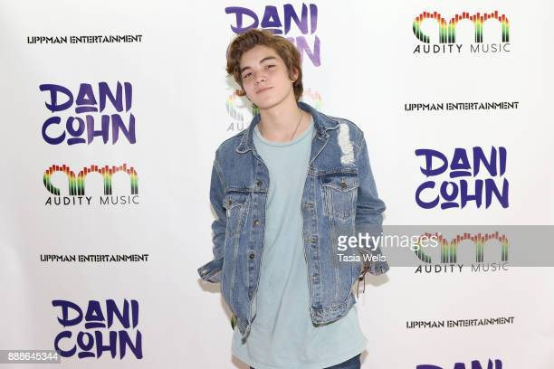 Matt Sato at Dani Cohn's Single Release Party for #FixYourHeart on December 8 2017 in Burbank California